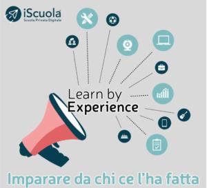contest learn by experience iScuola® scuola privata digitale diplomarsi online recupero anni scolastici