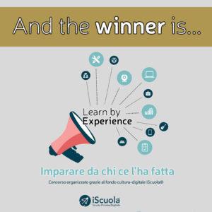 """iScuola® contest """"Learn by Experience"""" diploma online recupero anni scolastici scuola privata digitale"""