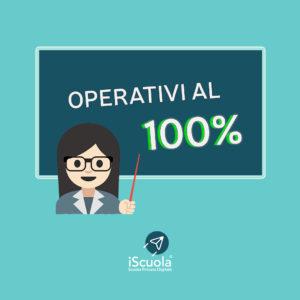 Emergenza coronavirus iScuola operativa al 100% scuola a distanza